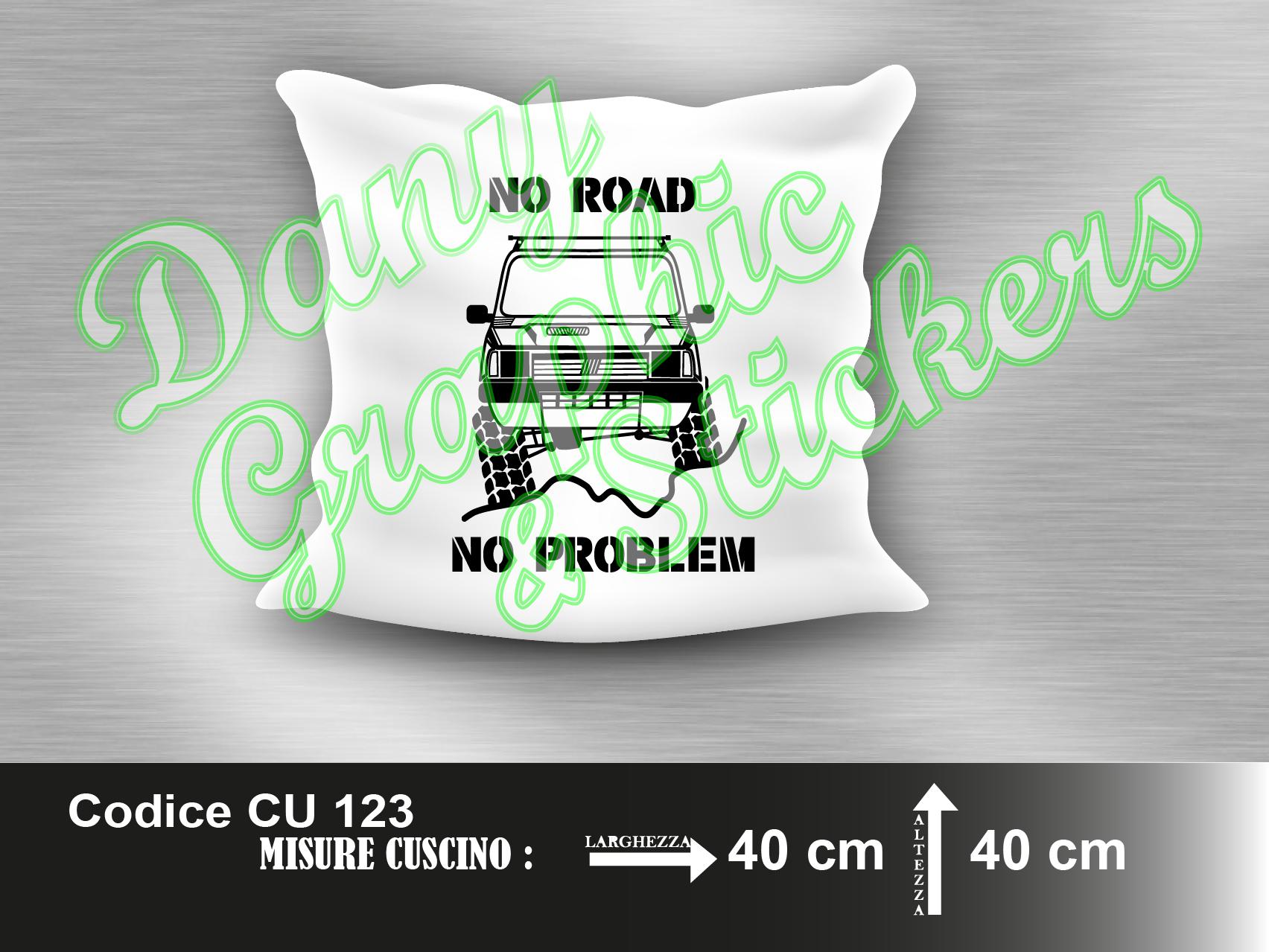 CU 123 CUSCINO FIAT PANDA 4x4 NO ROAD NO PROBLEM